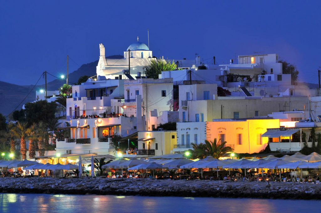 paros nightlife